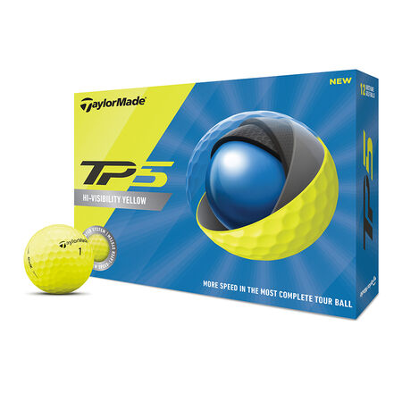 TP5 Yellow Golf Balls