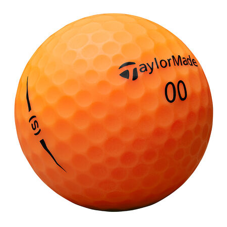 Project (s) Matte Orange Golf Balls