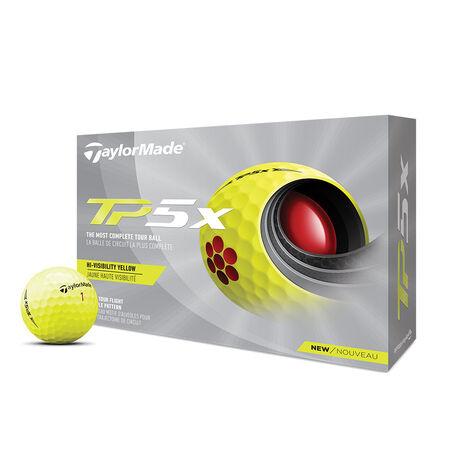 TP5x Yellow Golf Balls image number 0