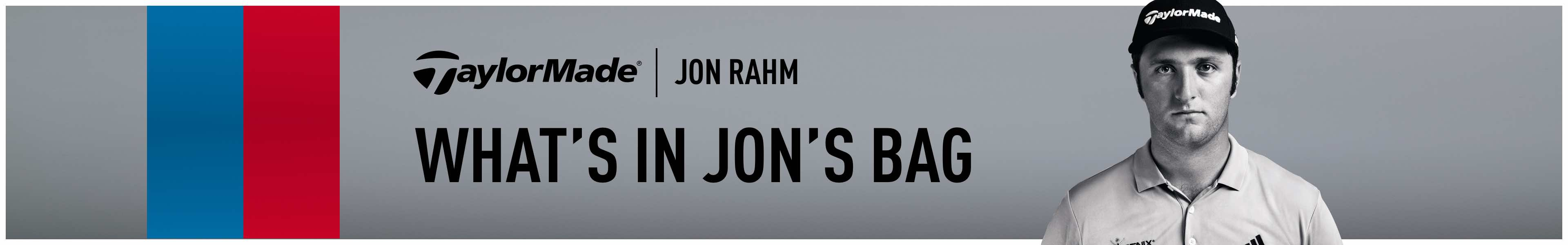 Jon Rahm's Bag